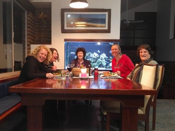 Group photo - dinner